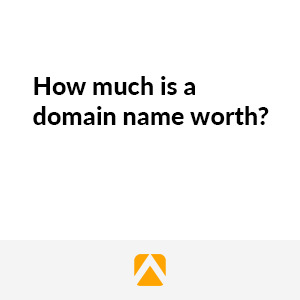 How much is a domain name worth