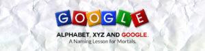 Google Alphabet XYZ Domain Name