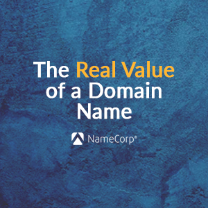 The real value of a domain name