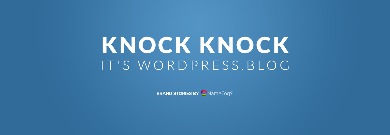 Knock Knock Wordpress Blog