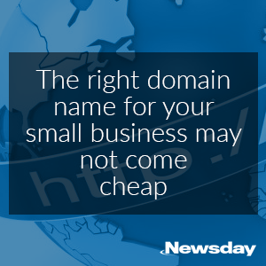 Newsday Article Domain Names NameCorp Quote