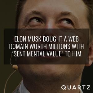 Elon Musk Domain Names