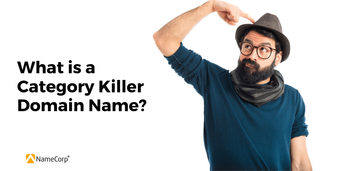 What is a category killer domain name?
