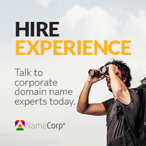 NameCorp Domain Name Experience